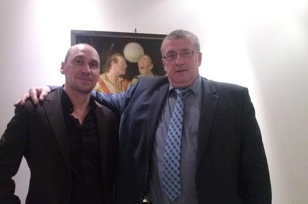 Mit Alexander Kuznetsov ( Direktor der Jugendakademie des FK Dynamo Moskau)