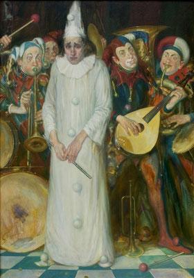 Der weiße Rabe (Öl auf Leinwand 70x100 2007)