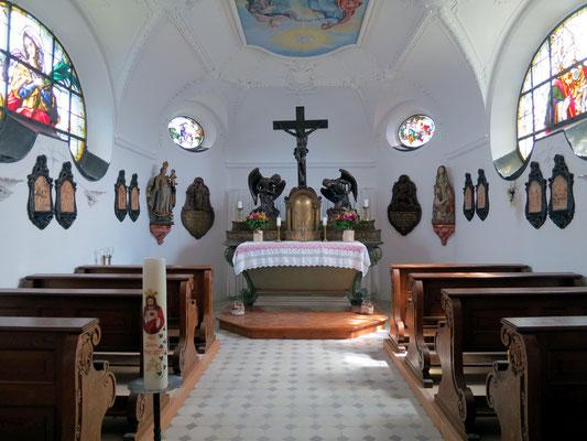 Ein Blick ins Wallberg-Kirchlein.