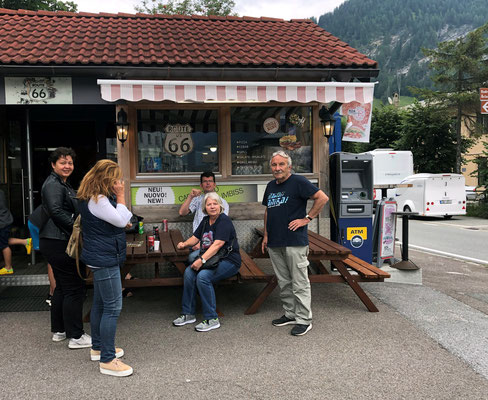 Outlet Center Brenner - Imbiss Route 66