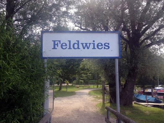 Anlegestelle Feldwies bei Übersee.