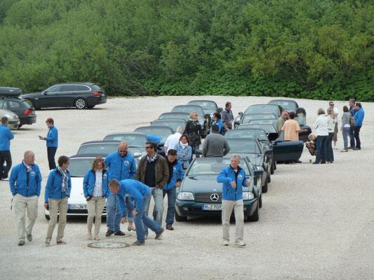 (Dolomiten - 2011) ...suchen gerne Kontakt zu anderen gleichgesinnten Gruppen...