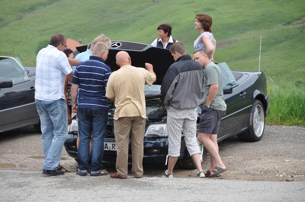 (Dolomiten - 2010) ... nutzen die Treffen auch gerne zum gegenseitigen Austausch. Anregungen und Fachinformationen nimmt man eigentlich immer gerne mit oder stellt sie zur Verfügung...