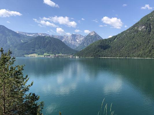 ...schön mal wieder den Achensee zu sehen...