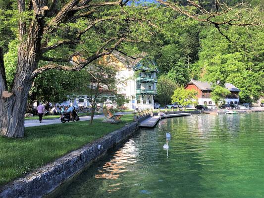Unsere Unterkunft das Hotel & Gasthof Fürberg in St. Gilgen...