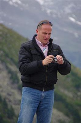 (Dolomiten - 2011) ...hadern manchmal mit der Technik...