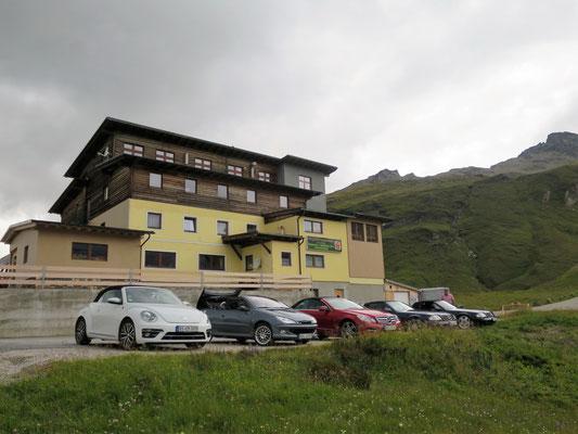 Unser Tagesziel, der Berggasthof Wallackhaus