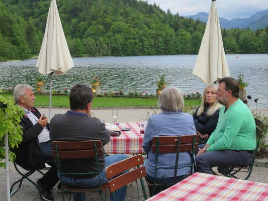 Wieder zurück im Hotel & Gasthof Fürberg in St. Gilgen am Wolfgangsee.