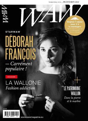 Relecture et correction du WAW Wallonie Magazine n° 24.
