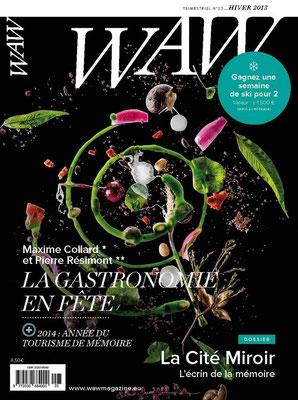 Relecture et correction du WAW Wallonie Magazine n° 23.
