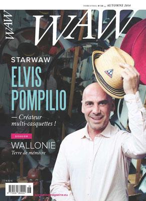 Relecture et correction du WAW Wallonie Magazine n° 25.