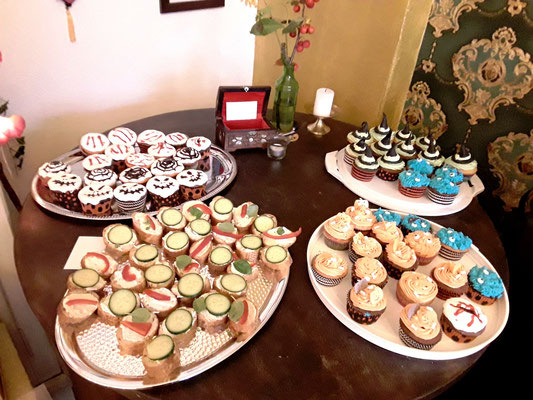 Muffins von Pop-up Store Eröffnung