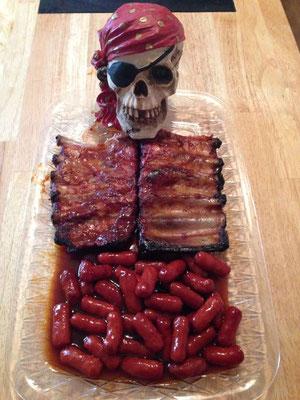 Leichenschmaus Idee für Halloween