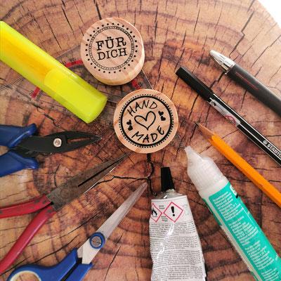 Alle Werkzeuge von Bloody Brilliants zur Schmuckherstellung