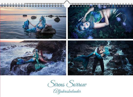 Rekii Kalender 2020 Meerjungfrauen, Erlös geht an Projekt zur Säuberung der Meere