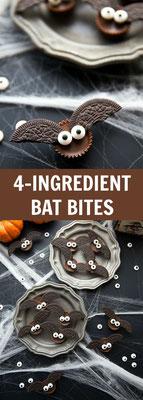 Bat Bites Halloween Kekse