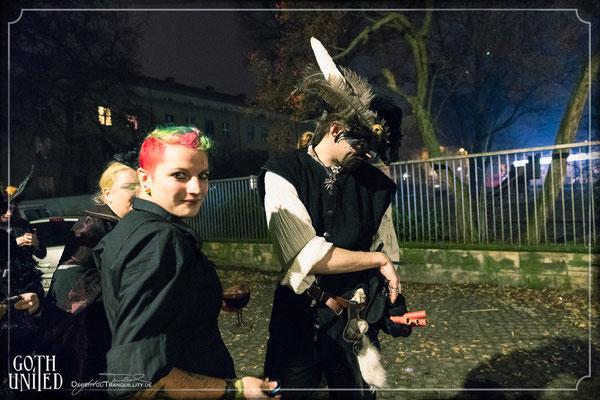 Piraten auf der Es war einmal... Silvesterparty von Goth United