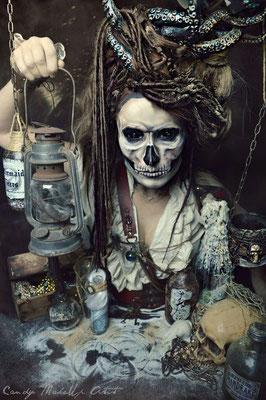 Voodoo Witch Halloween Makeup