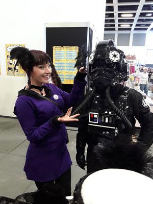 Star Trek trifft Star Wars auf der German Comic Con Berlin
