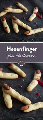 Hexenfinger Rezepte für Halloween