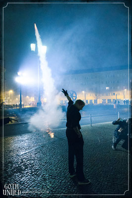 Silvester Feuerwerk Magie