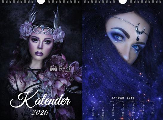 Rekii Kalender 2020 Selbstportraits