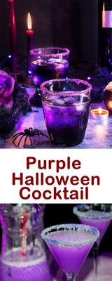 Purple Halloween Cocktail Rezepte