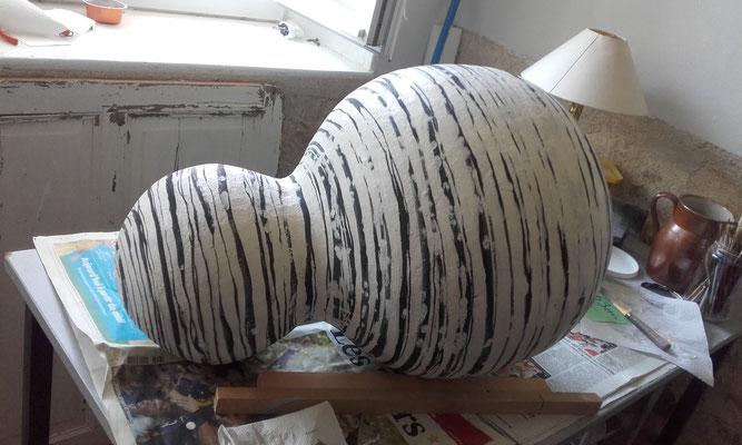 L'une des 7 céramiques après restauration