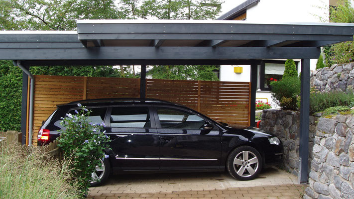 individual carport carport in holz alu stahl carport. Black Bedroom Furniture Sets. Home Design Ideas