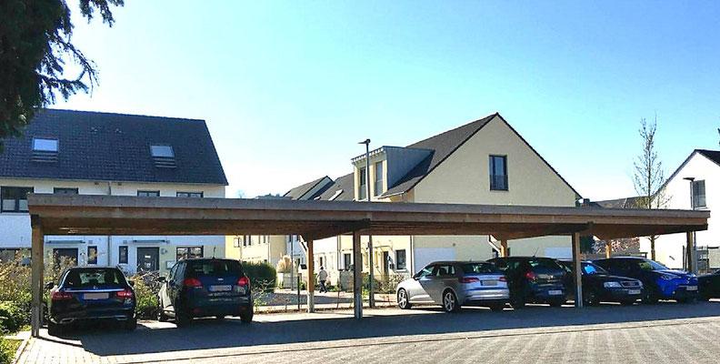 Beispiel-Nr. SORC53    Reihen-Carport für eine Wohnanlage in Oberhausen