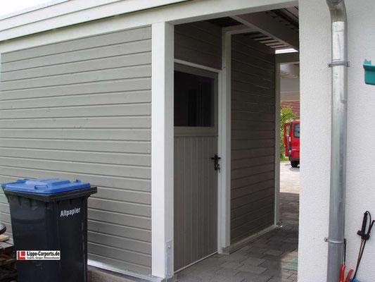 Beispiel-Nr. MGR-20.3    Zugang zur großen Gerätekammer, Tür hier mit Oberlicht