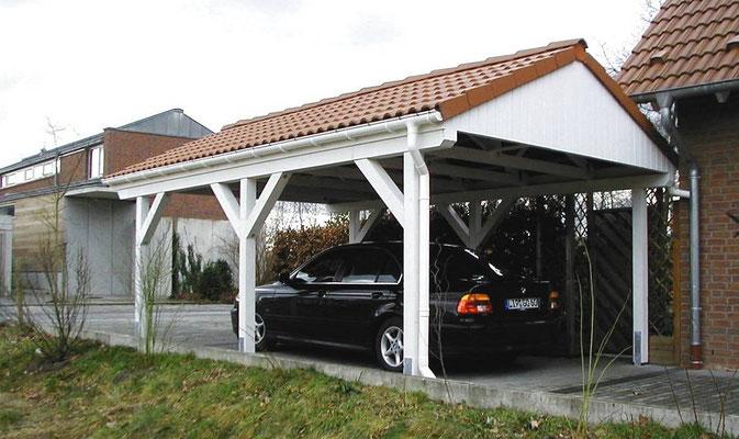 Beispiel-Nr. MST-7.2   Bei diesem Modell MÜNSTER gibt es wegen der Grenzbebauung keine seitlichen Dachüberstände