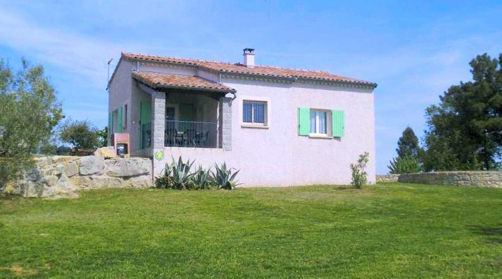 Cottage for rent in southern Ardèche