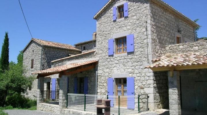 Gîte la Soleïade, à Saint-Alban-Auriolles en sud Ardèche