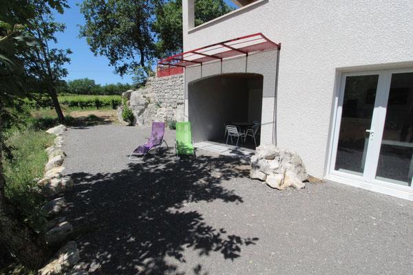 Gîte 2 personnes La Blacherette, avec terrasse en sud Ardèche