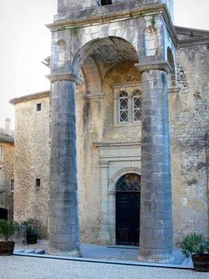 Eglise de Labeaume en sud Ardèche