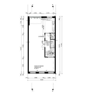 plattegrond 3e verdieping