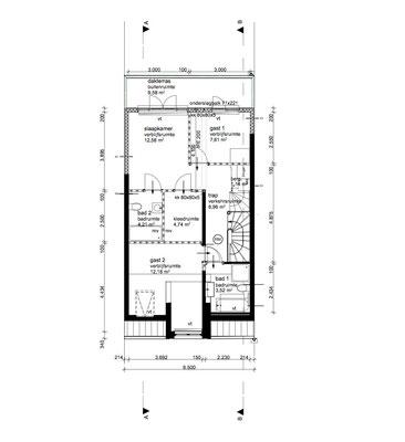 plattegrond 4e verdieping