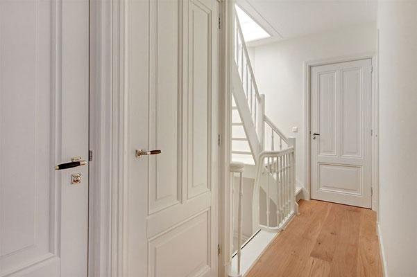 nieuwe trap naar dakterras op de 3e verdieping