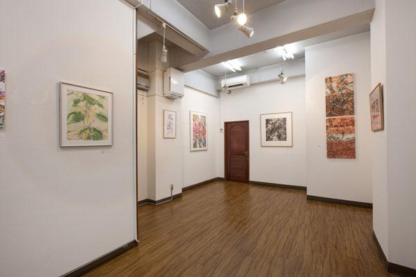 画廊企画 永井雅人展-Textures会場   ギャラリー杉野/東京 2017年  Masato Nagai's solo show in Tokyo,2017
