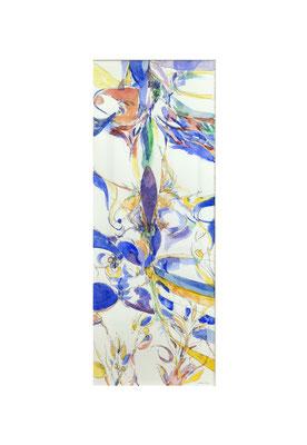 Masato Nagai/永井雅人 「Textures 冬」水彩、紙 2017年