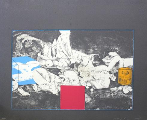 池田満寿夫 食後B リトグラフ 紙 1969年