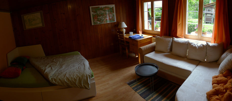 Neues Bett, ausziehbar zum Doppelbett