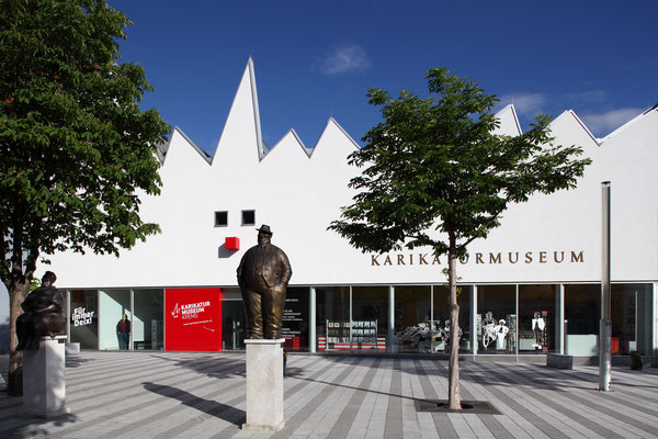 Karikaturmuseum Krems, Copyright Kunstmeile Krems BetriebsGmbH/Christian Redtenbacher