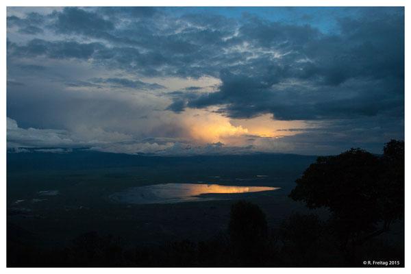 Morgenstimmung über den Ngrorongoro-Krater 3717