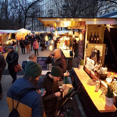 Öko-Adventsmarkt am Kollwitzplatz