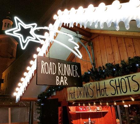 Bar-Hütte auf Spandauer Weihnachtsmarkt