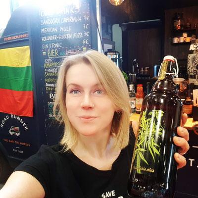 Grüne Woche - Cannabis Bier aus Litauen