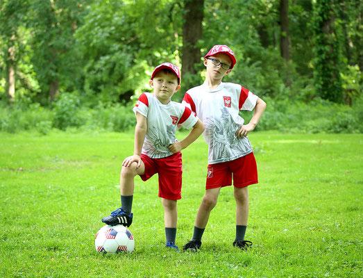 Boys. Polish game. Futboll. Summer. Kids photo session in the Penny park.  Photographer Gosia & Steve Tudruj 215-837-6651 PA, NJ, NY  www.momentsinlifephoto.com