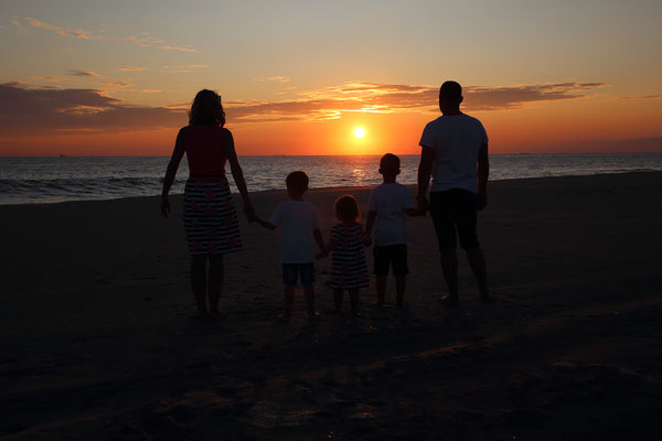 Family. Sunset.  Beach photo sessions along the Jersey shore during the summer . Sessions start from June to September. If you are interested, please message me. Photographer Gosia & Steve Tudruj 215-837-6651 www.momentsinlifephoto.com